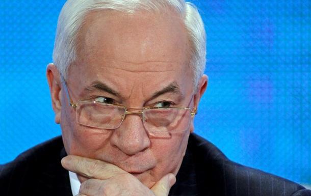 Остановка подготовки СА с ЕС не означает, что Украина хочет в Таможенный союз - Азаров