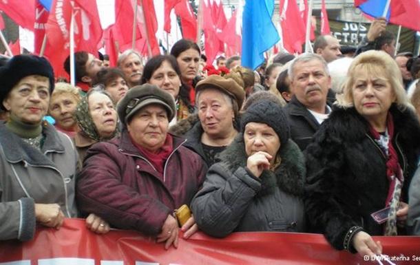 В Молдавии прошли протесты противников евроинтеграции