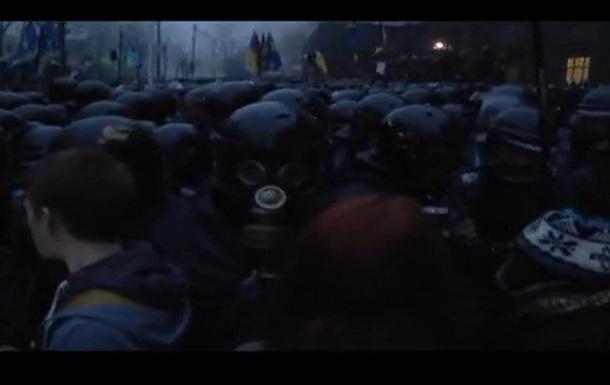 СМИ: Возле Кабмина произошли незначительные столкновения между милицией и активистами.