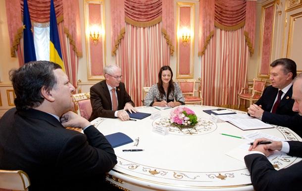 Евросоюз: предложение о подписании соглашения с Украиной остается в силе
