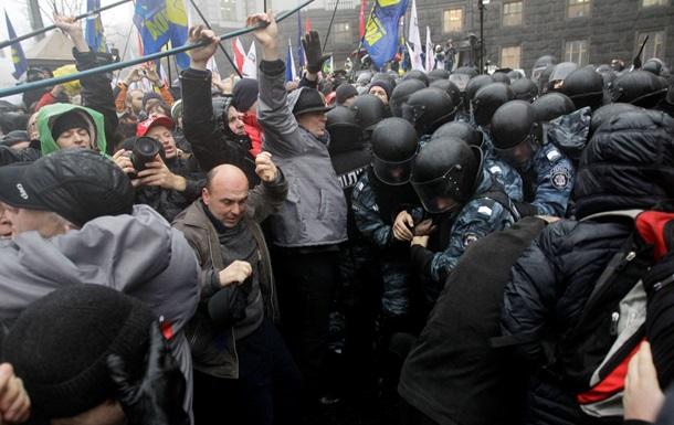 Милиция обратилась к участникам акций протеста