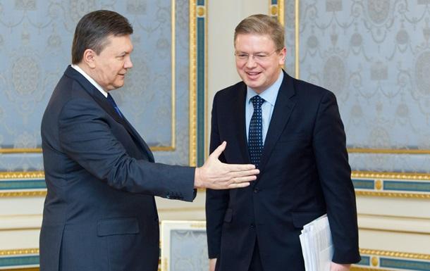 Евросоюз надеется, что Янукович не передумал лететь в Вильнюс
