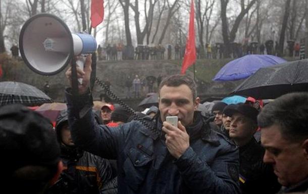 Кличко назвал заявление Януковича относительно европейского курса страны  туманным