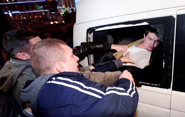 Прокуратура начала расследование захвата автомобиля СБУ на Европейской площади