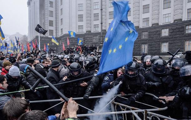 МИД РФ: Протестные и противоправные действия украинцев против власти - следствие давления ЕС