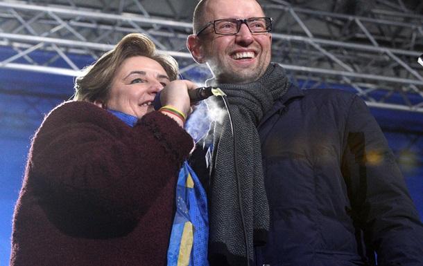 Власти Украины недовольны выступлением спикера Сейма Литвы на Евромайдане