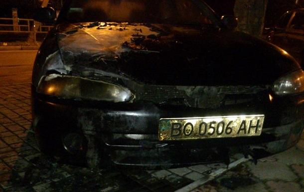 Новости Херсона - поджог - автомобиль - Свобода - В Херсоне неизвестные подожгли автомобиль председателя облорганизации Свободы