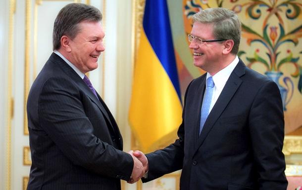 Фюле: ассоциация с ЕС принесет Украине экономический рост, а не спад