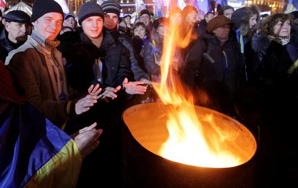 Новости Киева - Евромайдан - одежра - медикаменты - Участники Евромайдана в Киеве просят принести теплую одежду и медикаменты