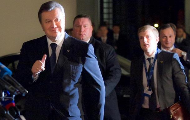 Янукович ждет от ЕС введения безвизового режима