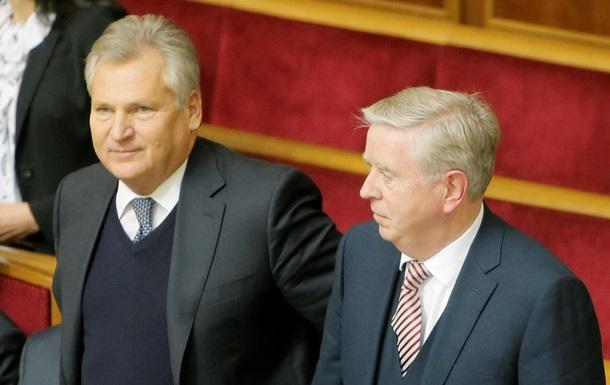 Миссия Кокса-Квасьневского продолжит работу в Украине