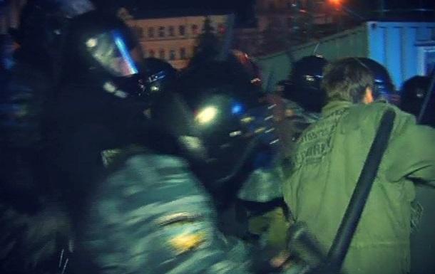 Разгон Евромайдана в Киеве: десятки митингующих остаются поблизости Майдана Незалежности