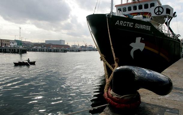 Власти Голландии собрали залог за активистов Greenpeace