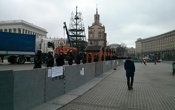 На Майдане и Европейской запретили массовые акции