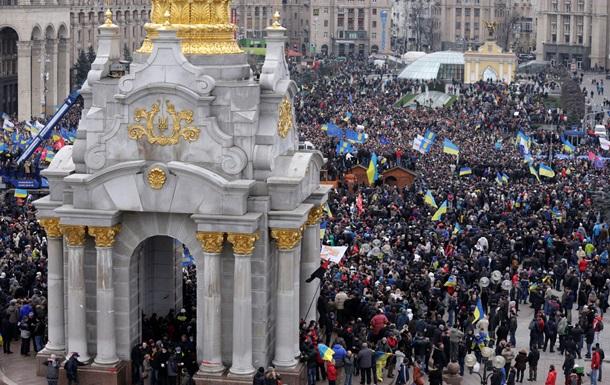 Евромайдан: онлайн-трансляция событий в центре Киева
