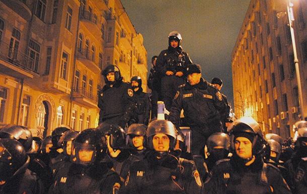 В Киеве завели уголовное дело о нападениях на сотрудников милиции
