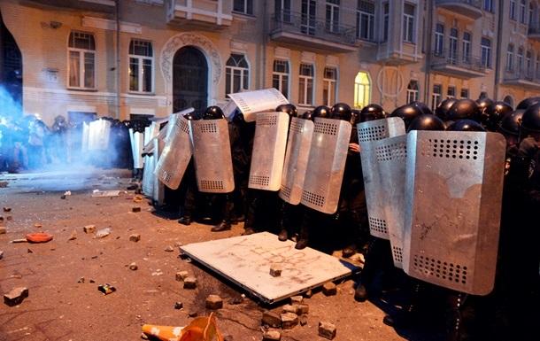 По факту вчерашних событий в центре Киева возбуждено 11 уголовных дел, задержаны 9 человек