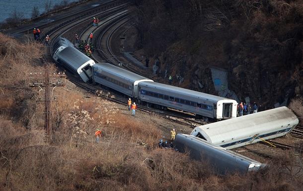 Потерпевший крушение в Нью-Йорке поезд превысил скорость почти втрое