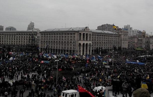 Госдеп просит украинскую власть решить проблему Евромайдана мирным путем