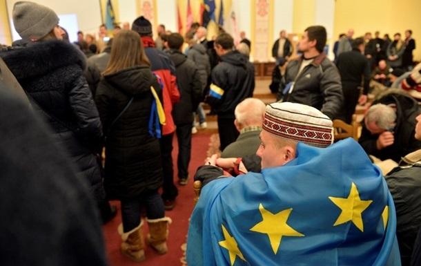 Митингующие готовы сдать здание киевской мэрии