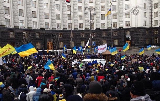 Киев и Москва пригрозили протестующим украинцам - Reuters