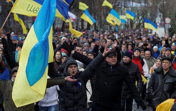 В киевском Евромайдане принимают участие грузинские оппозиционеры