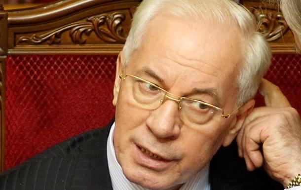 Азаров: У нас заканчиваются силы выполнять заключенные с Россией газовые контракты