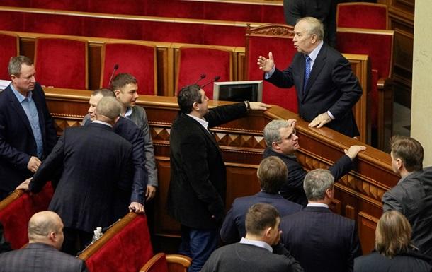 Верховная Рада рассмотрела законопроект об отставке правительства Азарова