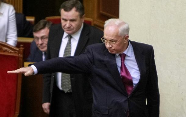 Верховная Рада провалила голосование по отставке Азарова и его правительства