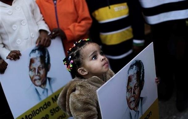 Нельсон Мандела - екс-президент ЮАР и лауреат Нобелевской премии мира