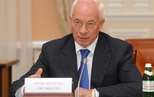Оппозиция блокированием Кабмина и ВР препятствует подписанию соглашения о безвизовом режиме с ЕС - Азаров