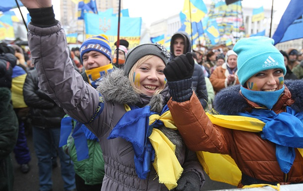 Онлайн-трансляция Евромайдана в Киеве
