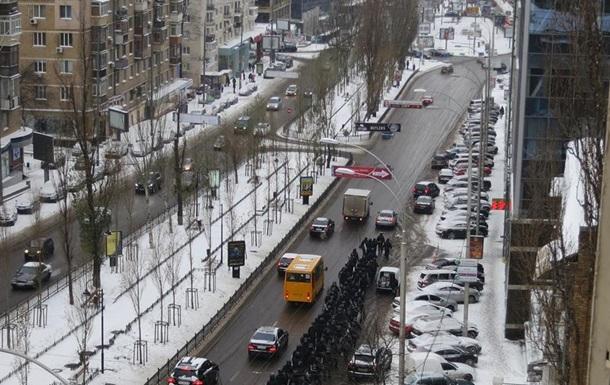 Онлайн видео - разгон Евромайдана