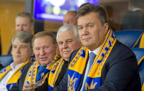 Встречу Януковича с бывшими президентами Украины покажут в записи