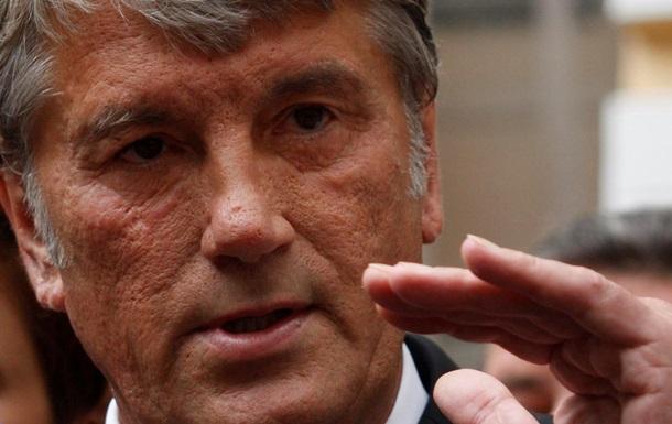 Ющенко призвал наказать виновных в избиении участников Евромайдана
