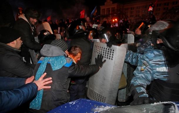 После ночной расчистки Майдана госпитализированы 6 митингующих и 9 правоохранителей - КГГА