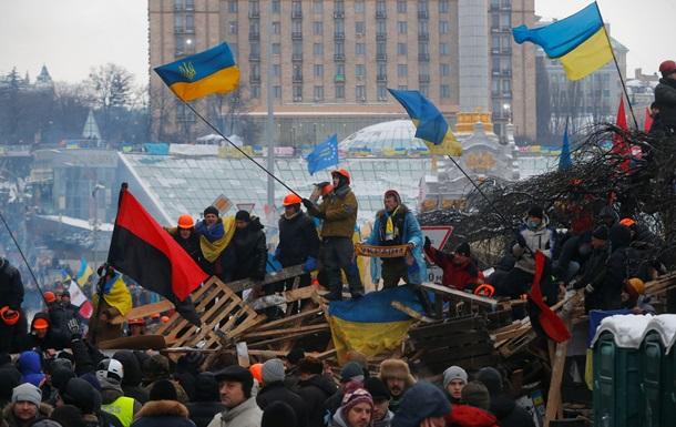 О массовых антиправительственных протестах в Украине не знает треть россиян - опрос