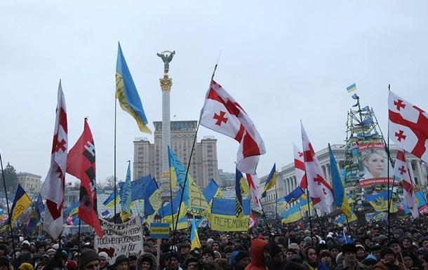 Парламент Грузии опубликовал заявление в поддержку европейского курса Украины
