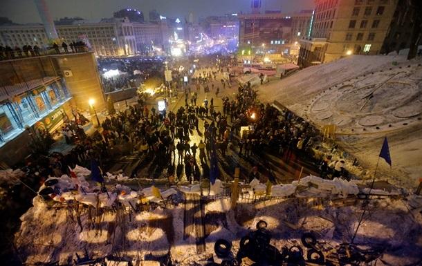 Около 13 тысяч активистов собрал Майдан в ночь на пятницу - МВД