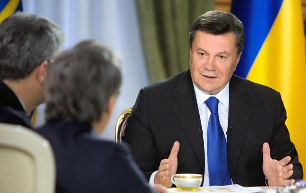 Янукович возмущен действиями провокаторов и правоохранителей на Майдане