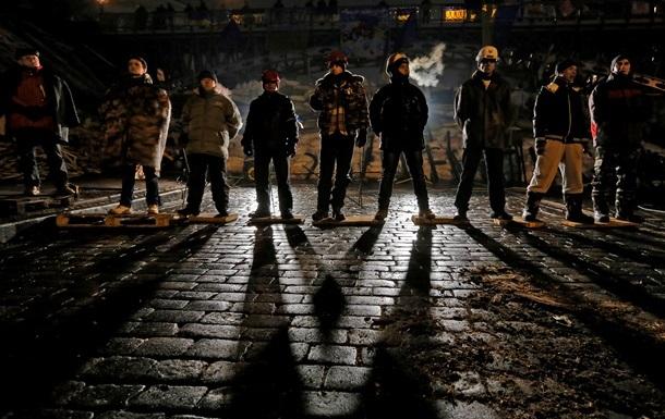 Охрана Майдана вызвала милицию на пьяного, пытавшегося затеять драку