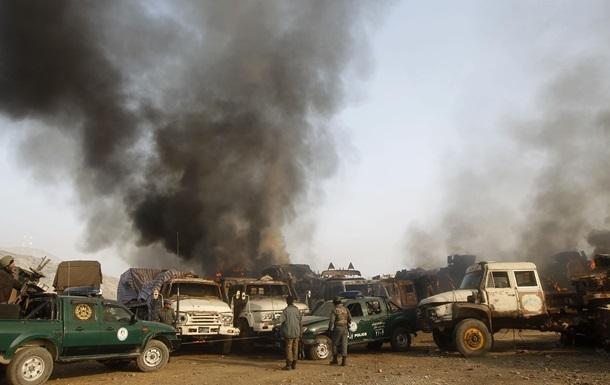 В Афганистане талибы-смертники атаковали базу НАТО