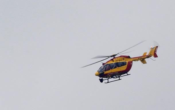 Во Франции рухнул вертолет, на борту которого находились четыре человека
