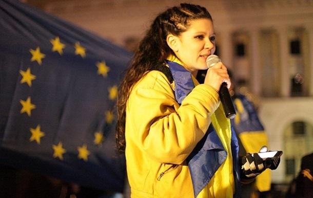 Руслана - Евромайдан - НО Майдан - Певица Руслана не хочет быть сопредседателем НО Майдан
