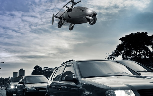 В Голландии поступил в продажу автомобиль-вертолет