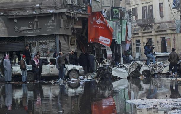 Взрыв заминированного автомобиля в городе Эль-Мансура.