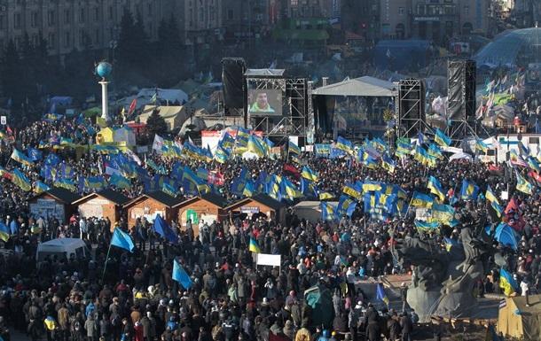Яценюк: Первое задание народного объединения Майдан – формирование новой Конституции