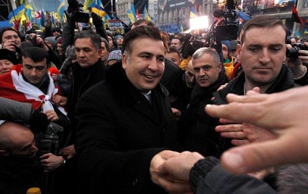 Грузию обеспокоил запрет для Саакашвили на въезд в Украину