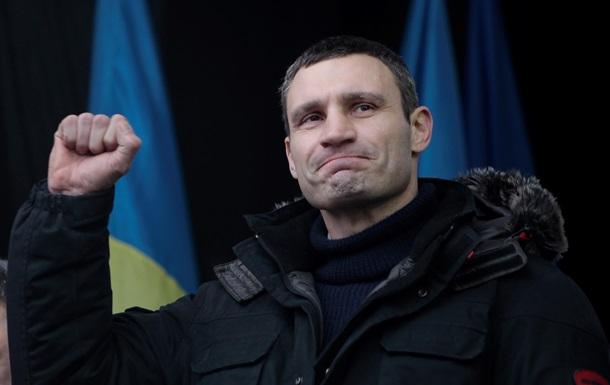 Эксперты назвали Виталия Кличко политиком года