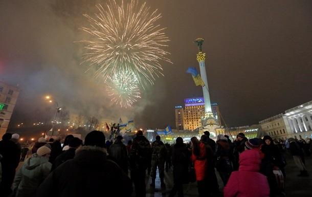 Майдан Незалежности готовится к встрече Нового года
